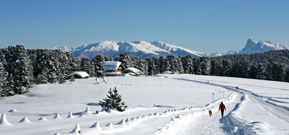 Die Villanderer Alm im Winter | Granpanorama Hotel StephansHof ****