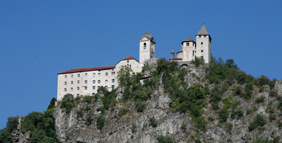 The Sabiona monastery in Klausen/Chiusa | Granpanorama Hotel StephansHof ****