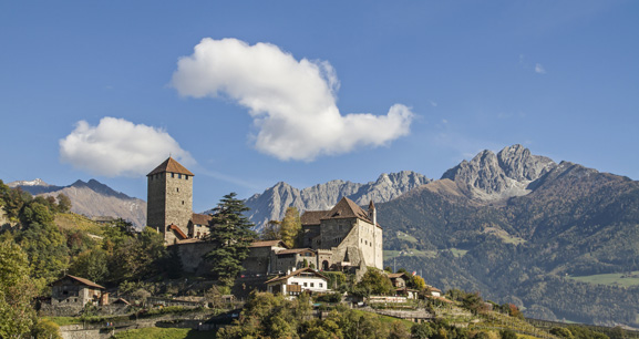 The Tirol Castle near Meran/Meran | Granpanorama Hotel StephansHof ****